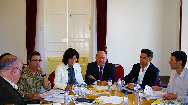 Reunião de trabalho no âmbito da Eurocidade do Guadiana