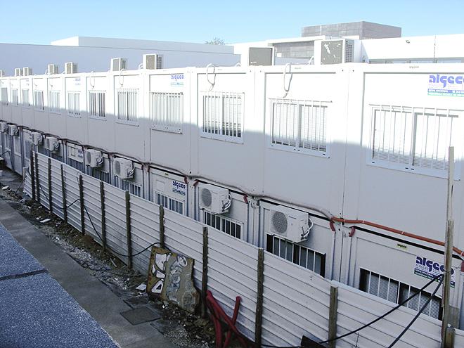 Instalações provisórias da Escola Secundária de VRSAntónio