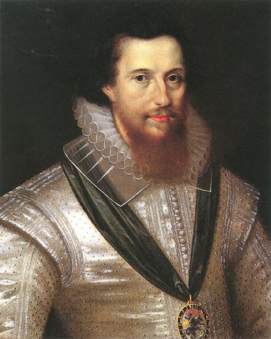 Robert Devereux, conde de Essex, que saqueou o Algarve em julho de 1596