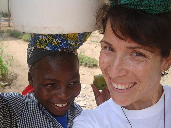 Missão de Carmem Santos em 2013 em Angola