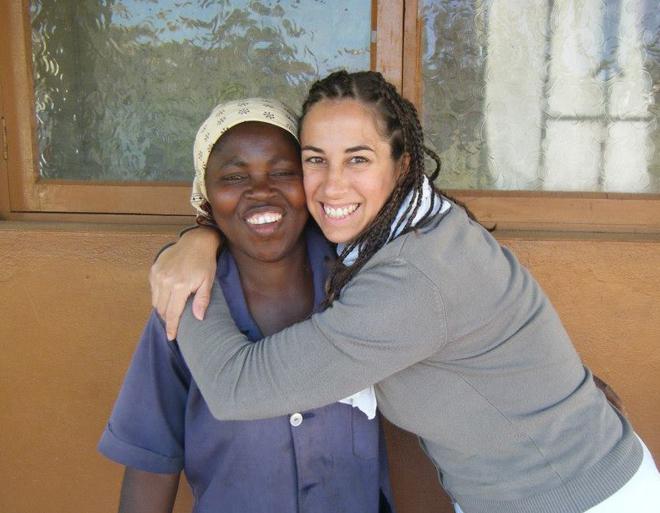 Missão de Daniela Vaz em 2013 em Moçambique