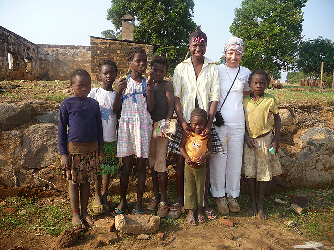 Missão de Els Claes em 2012 em Angola