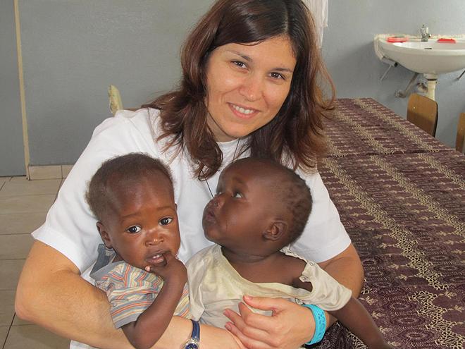 Missão de Sofia Gonçalves em 2012 em Moçambique
